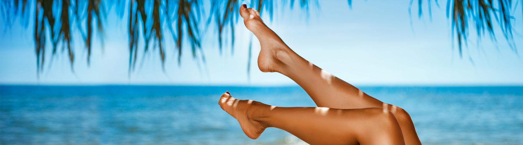 trattamento per gambe gonfie e pesanti